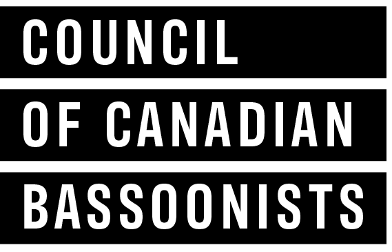 Council of Canadian Bassoonists logo 2020