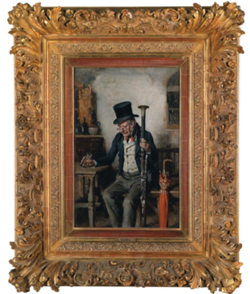 Expensive art bassoonist