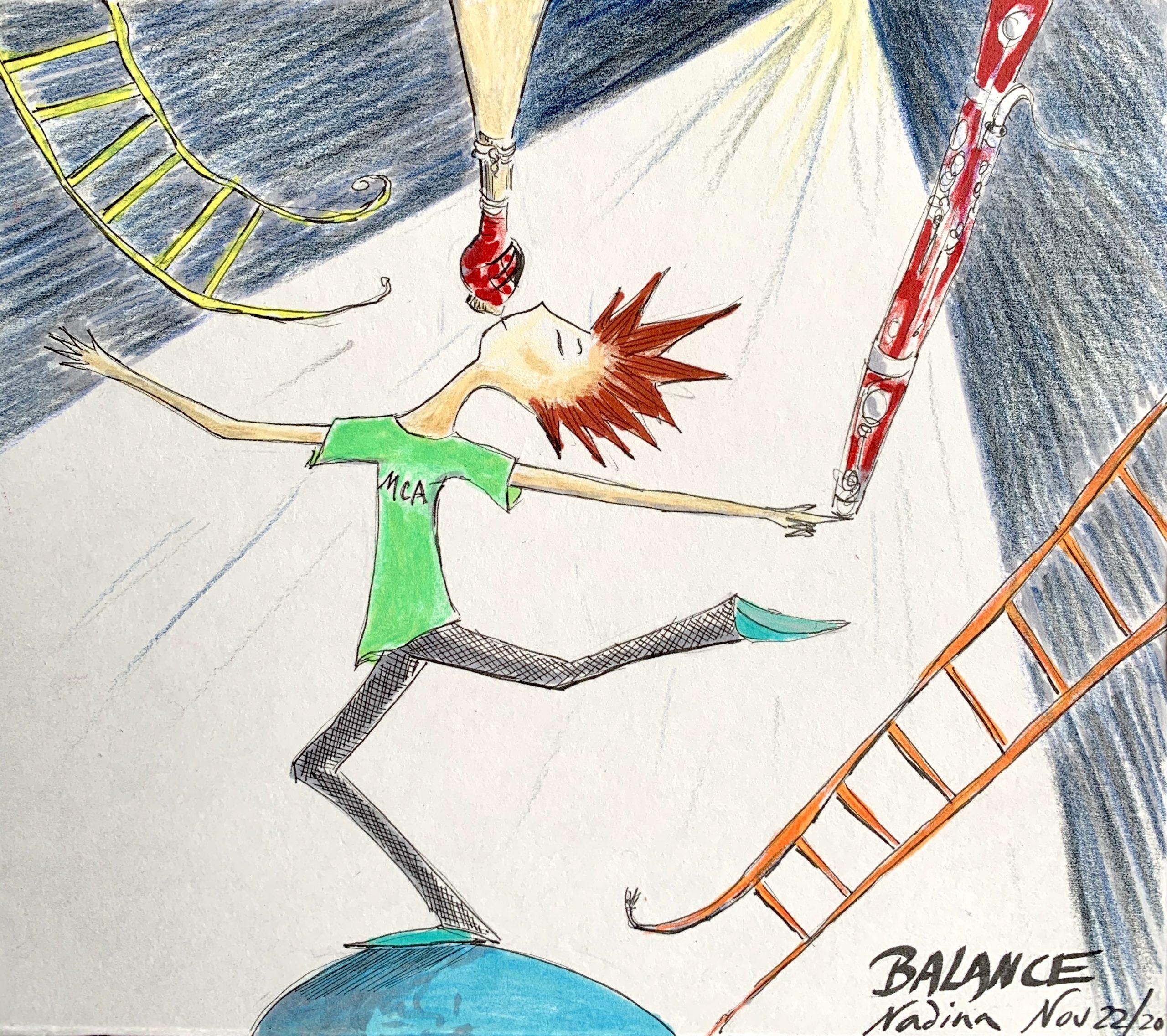 Balance, Bassoon Reed Physics
