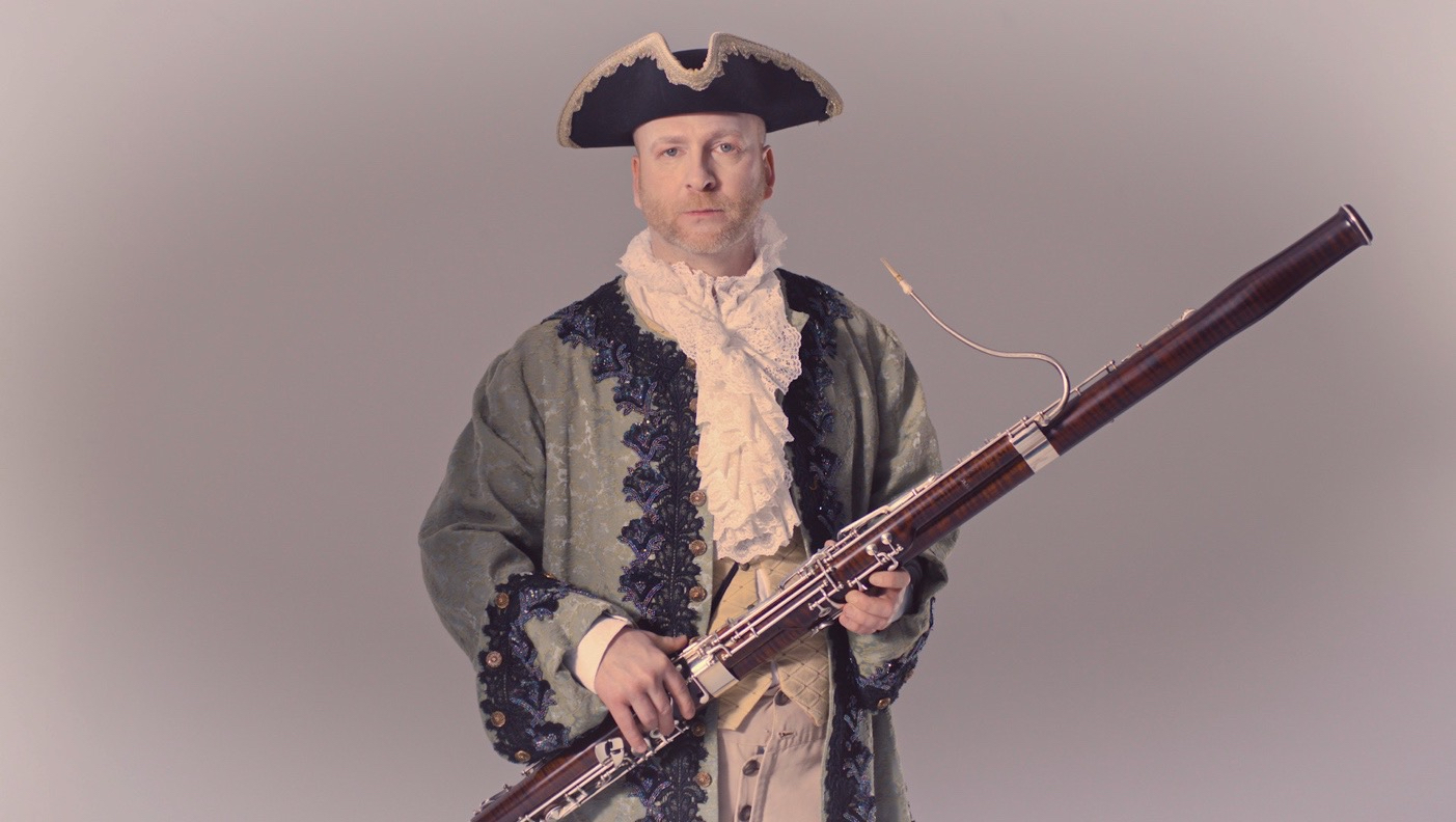 Mathieu - Baroque Bassoonist