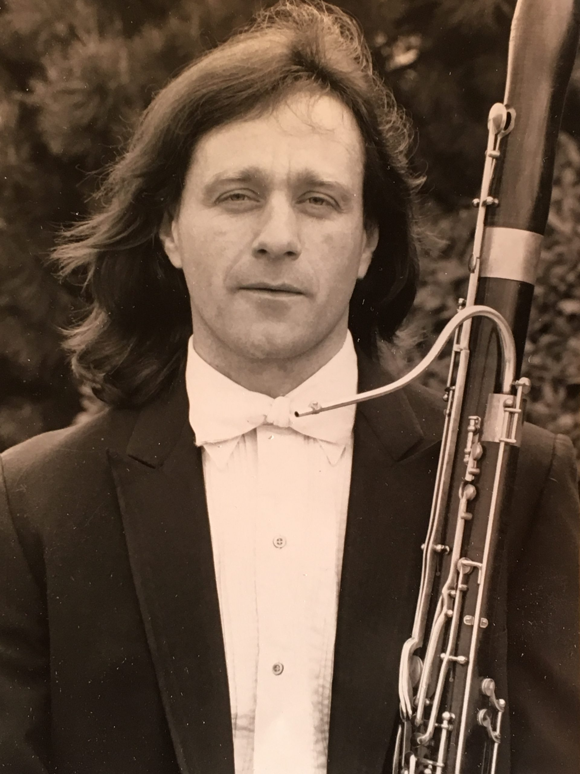 Paul Buttemer Bassoonist and Reed maker