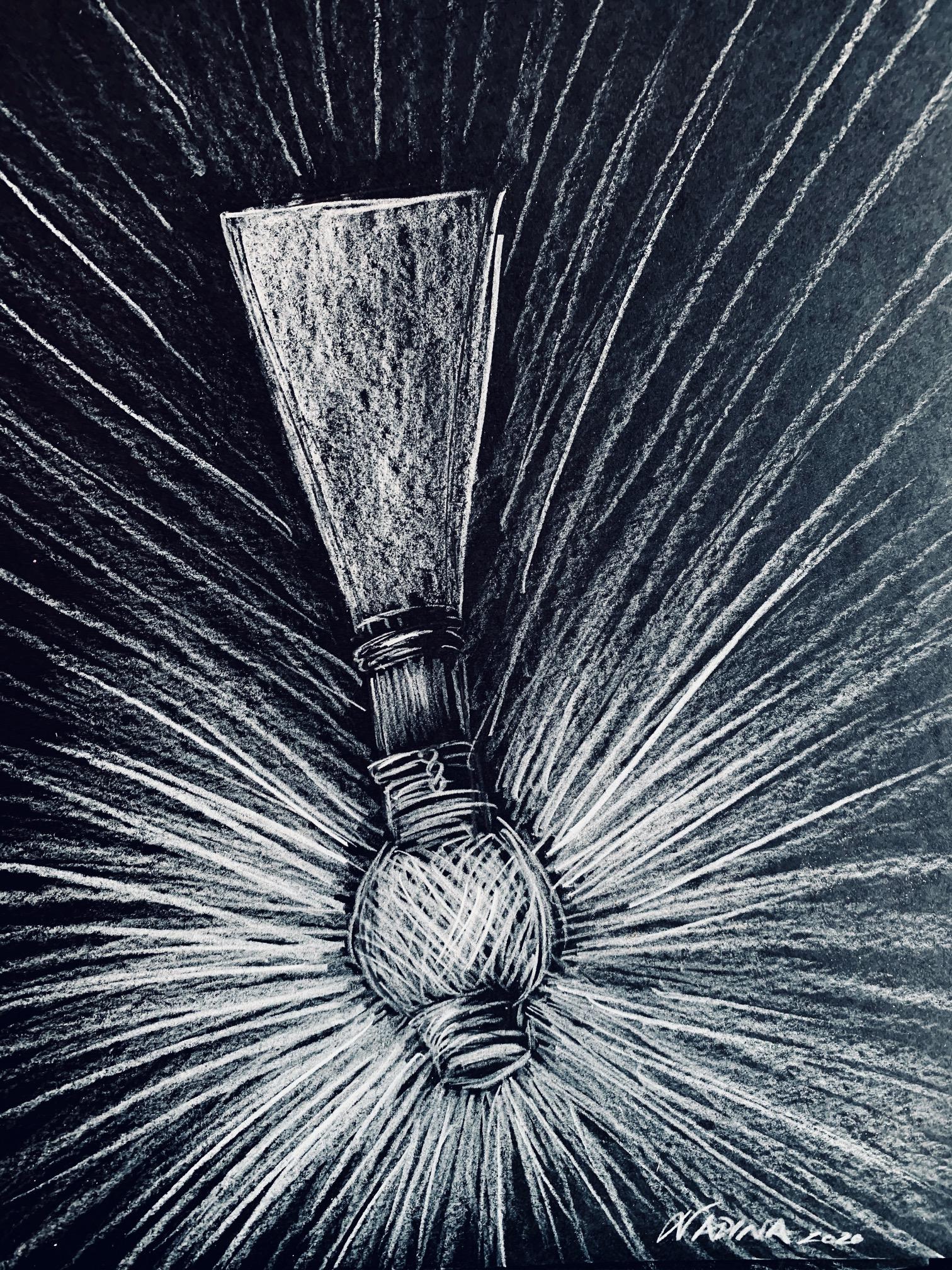 fil blanc, white thread, anche de bassoon