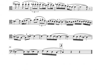 Ravel – Boléro – Transposed