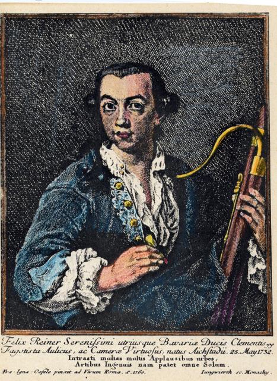 bassoon in art 1774