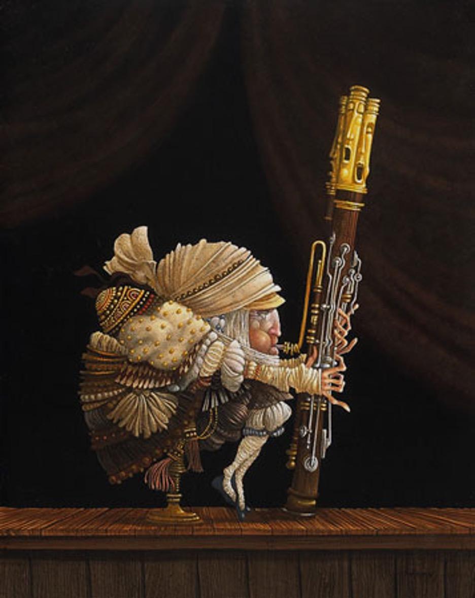 eleven fingered bassoonist