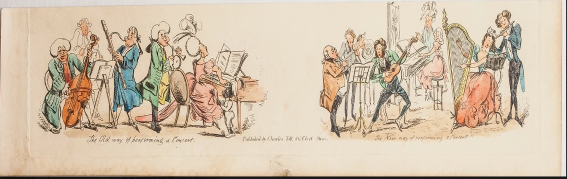 London music party 1780