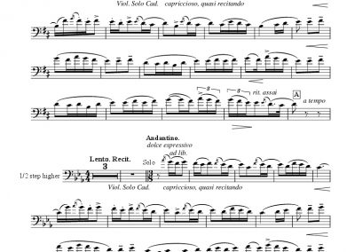 Rimsky-Korsakov – Shehrezade/Kalendar Prince – Transposed