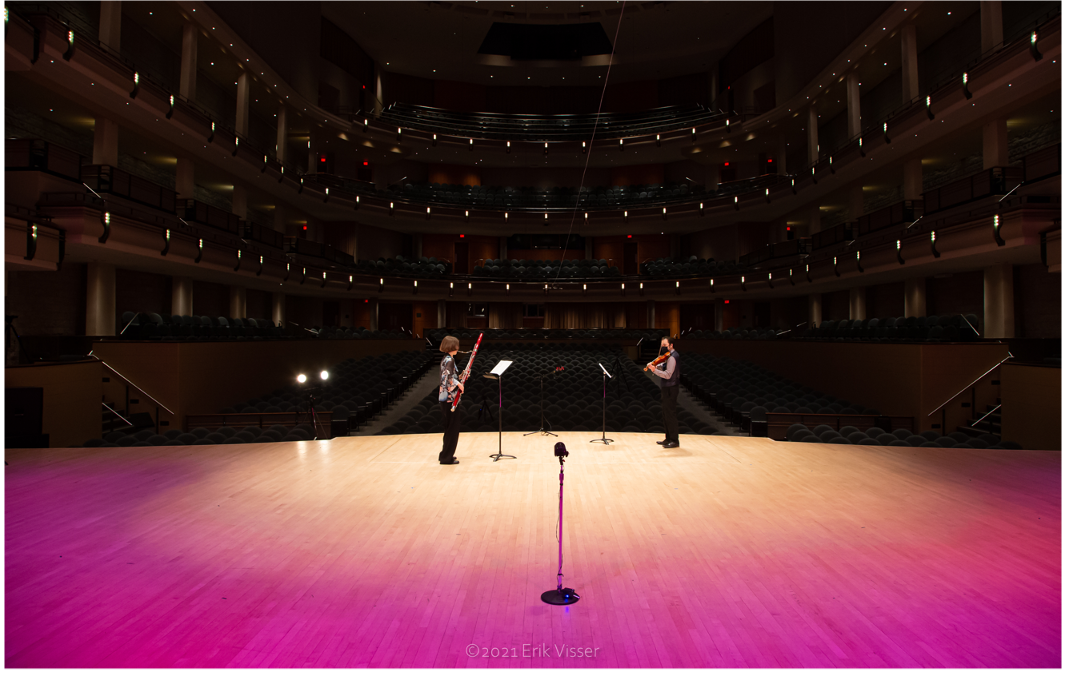 winspear view from stage